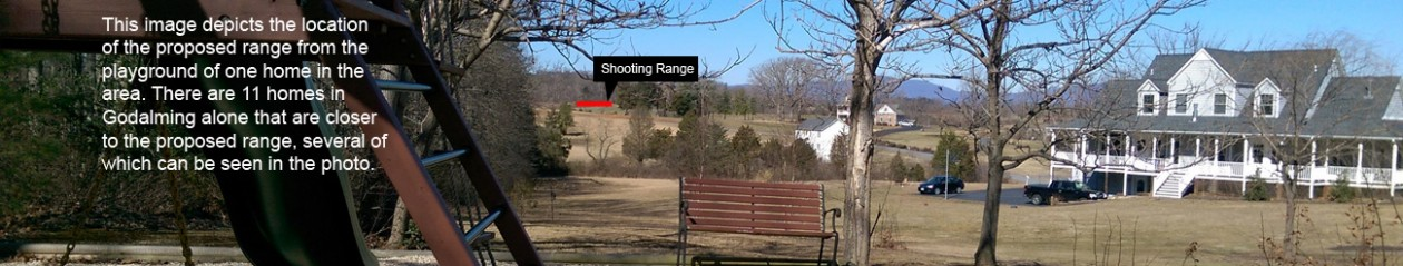 No Shooting Range Near Homes